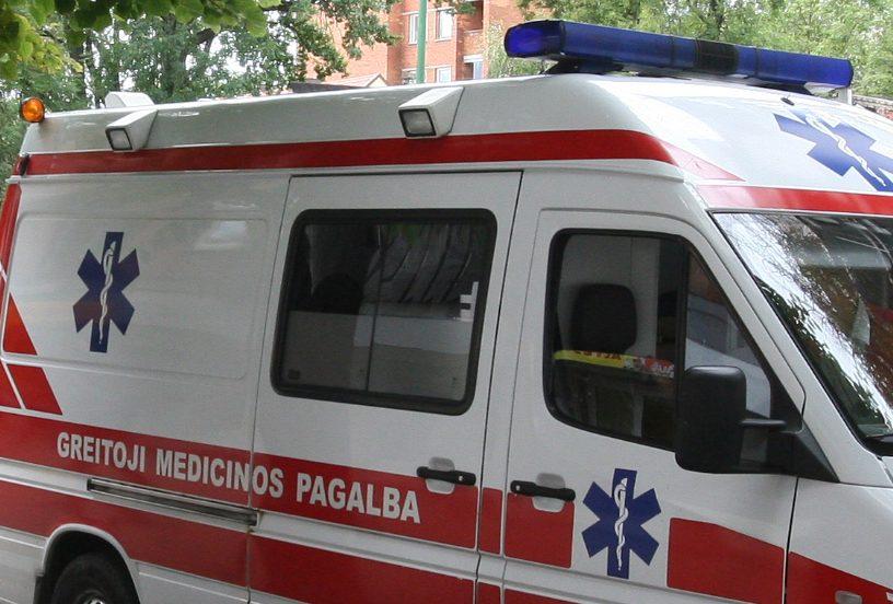 Sostinėje per avariją nukentėjo du Lenkijos piliečiai
