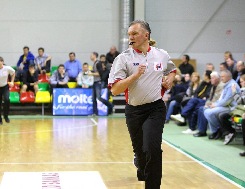 Metai be V. Dovidavičiaus – vieno geriausių Lietuvos krepšinio teisėjų