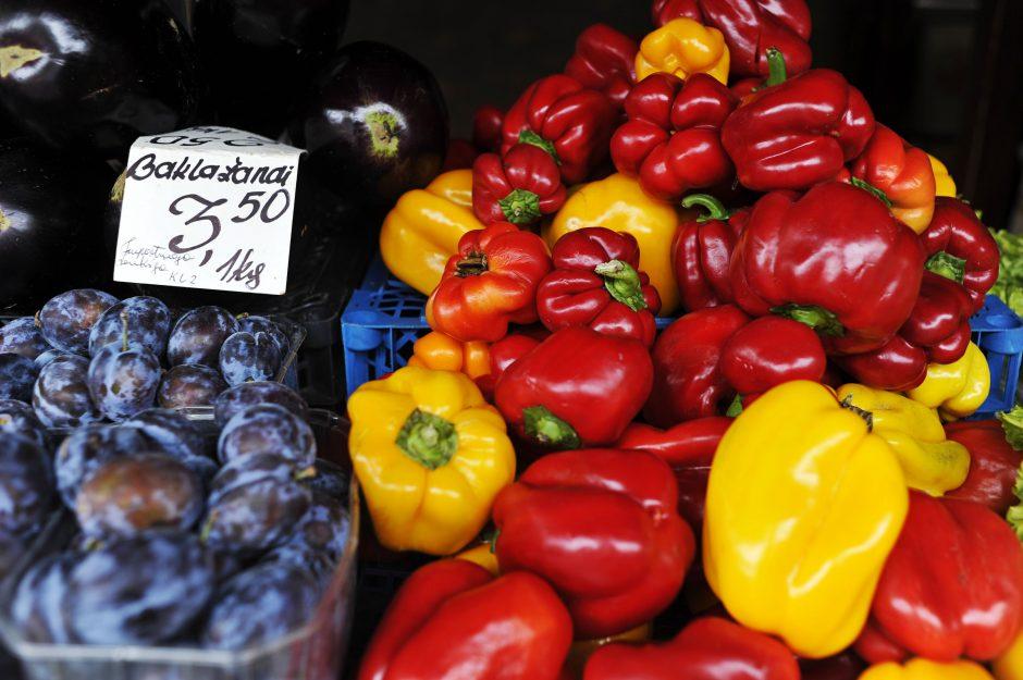 Ūkininkai kauniečius mokys atpažinti ekologiškus vaisius ir daržoves