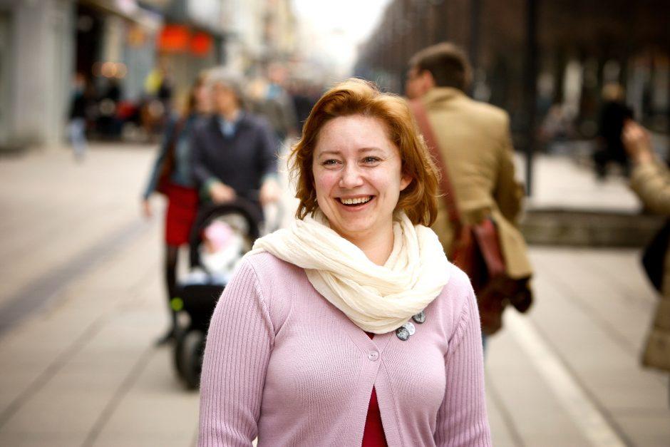 V. Vitkienė: turime penkerius metus, kad Kaunas suspindėtų kaip deimantas