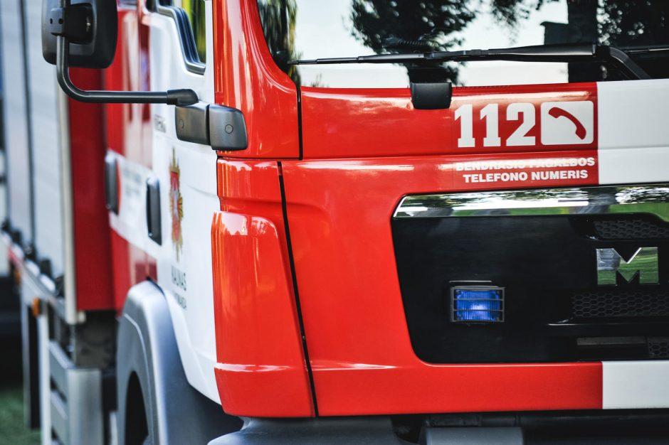 Šakių rajone per gaisrą žuvo moteris, išgelbėti du mažamečiai vaikai