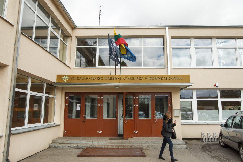 J. Urbšio katalikišką mokyklą purto skandalai ir nelaimės