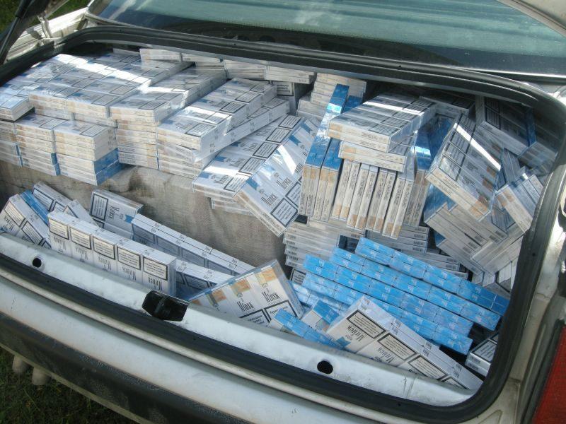 Šilalės rajone sulaikytas 45 tūkst. litų vertės kontrabandinių cigarečių krovinys