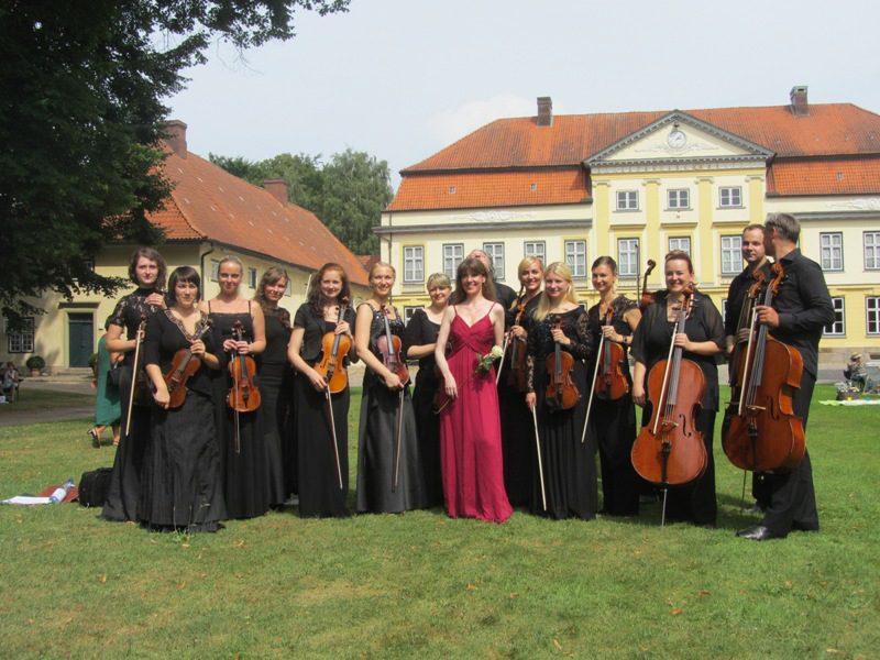 VDU orkestras sužavėjo vokiečių publiką