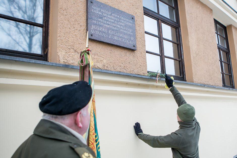 Kaune pagerbti pirmieji 1919 m. žuvę savanoriai