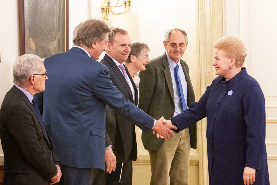D. Grybauskaitė: Europa privalo prisiimti atsakomybę už savo saugumą
