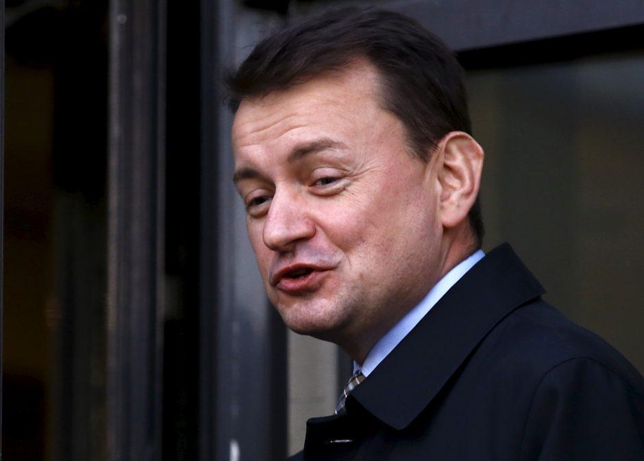 Lenkijos ministras: priimti migrantus – blogiau, negu patirti ES sankcijas