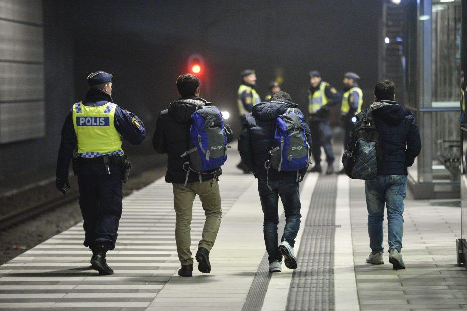 Švedijoje po trijų padegimų pabėgėlių centruose evakuota 300 migrantų