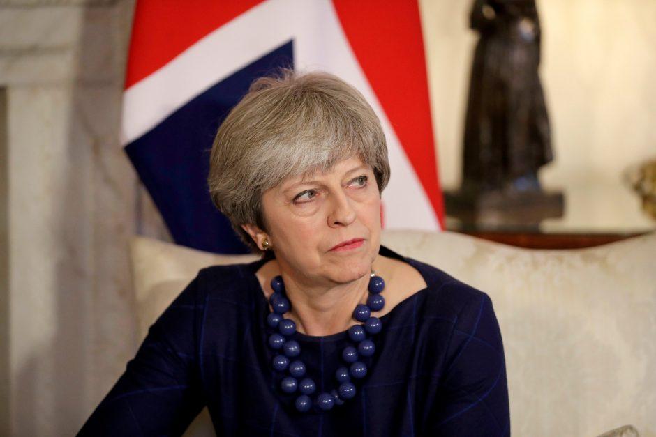 Britanijoje dėl sąmokslo nužudyti premjerę suimti du asmenys