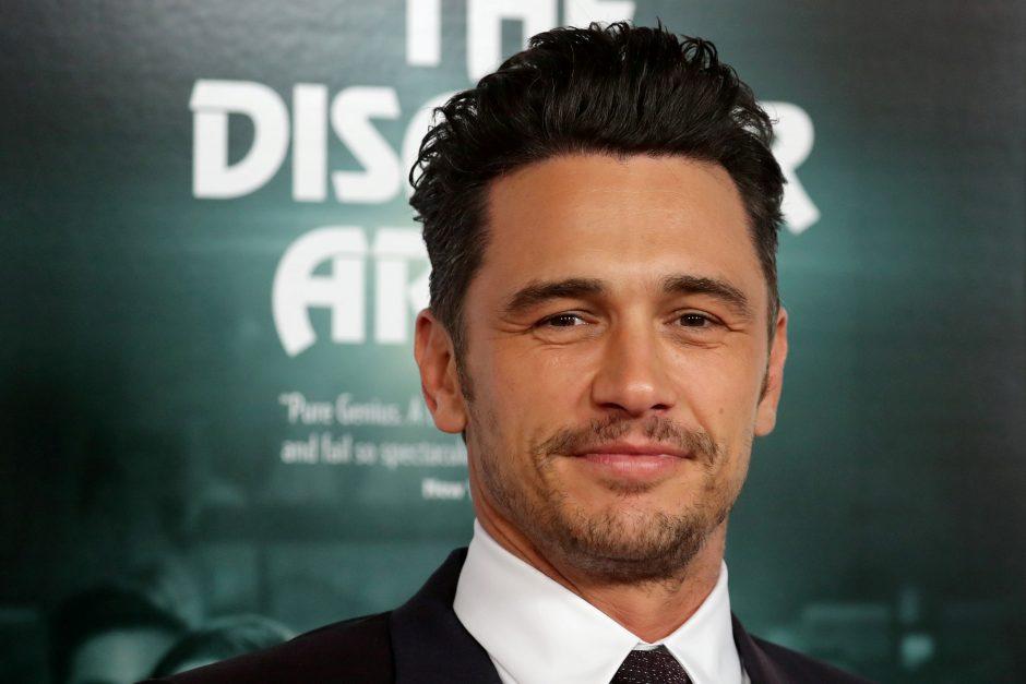 Penkios moterys aktorių J. Franco kaltina lytiniu priekabiavimu