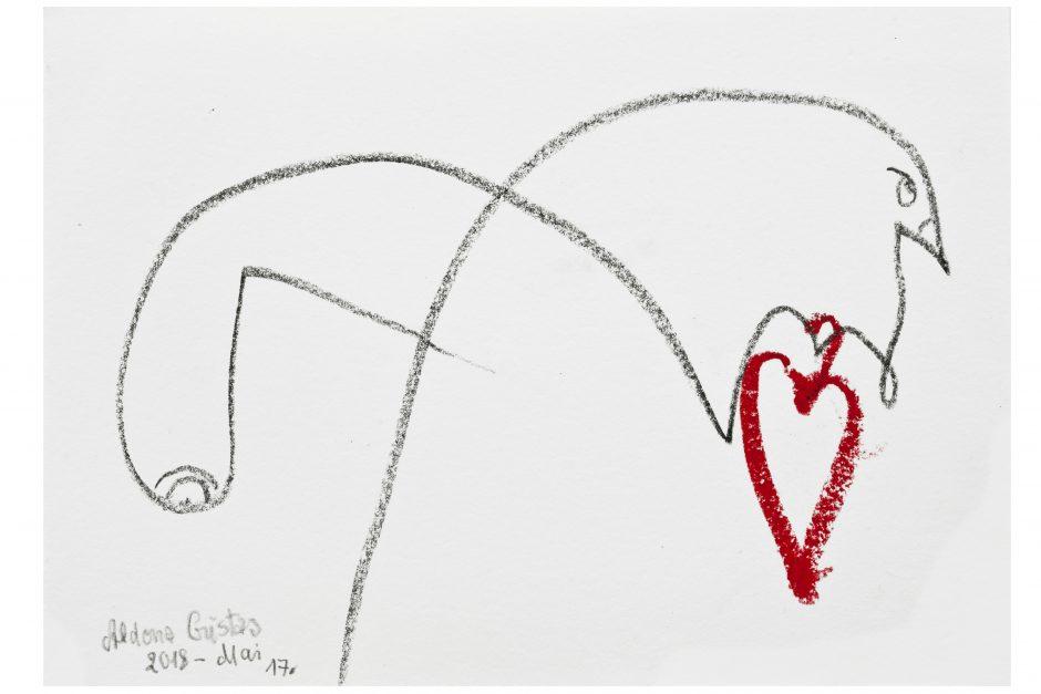 Lietuva menininkės A. Gustas širdyje užima ypatingą vietą
