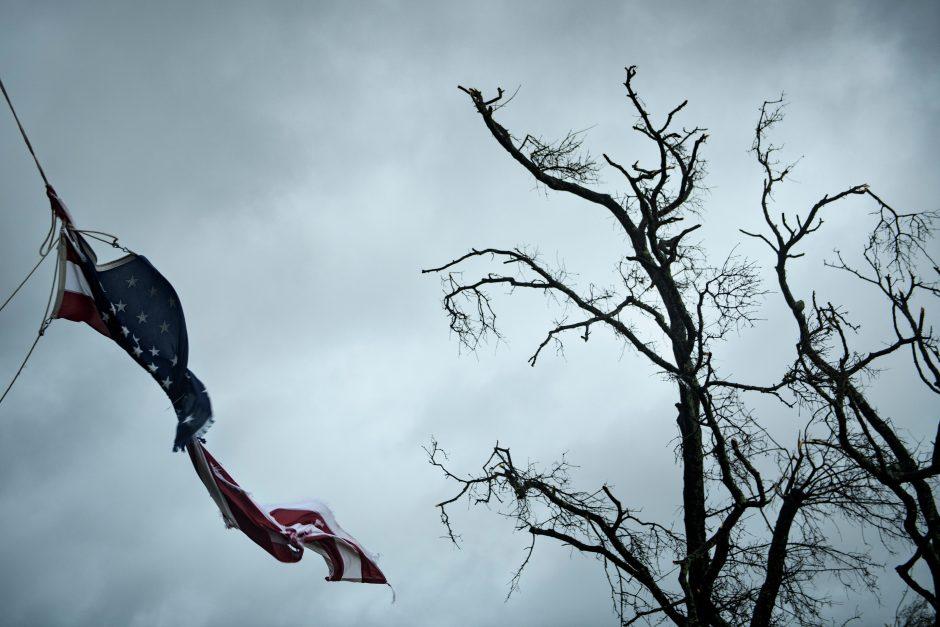 """JAV talžo uraganas """"Michael"""""""