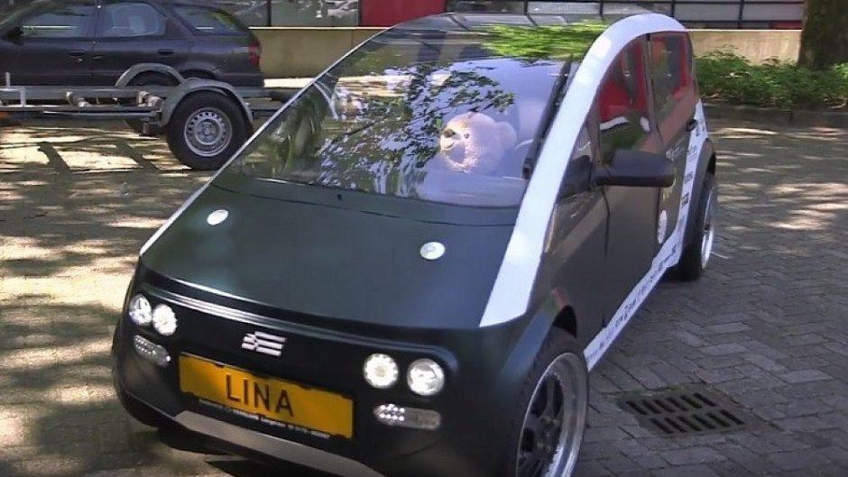 """Susipažinkite: """"Lina"""" – automobilis, pagamintas iš cukrinių runkelių ir linų"""