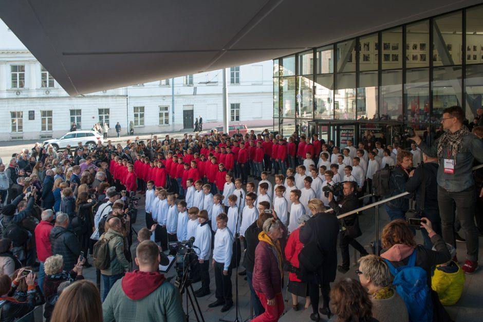 MO muziejaus atidarymas Vilniuje