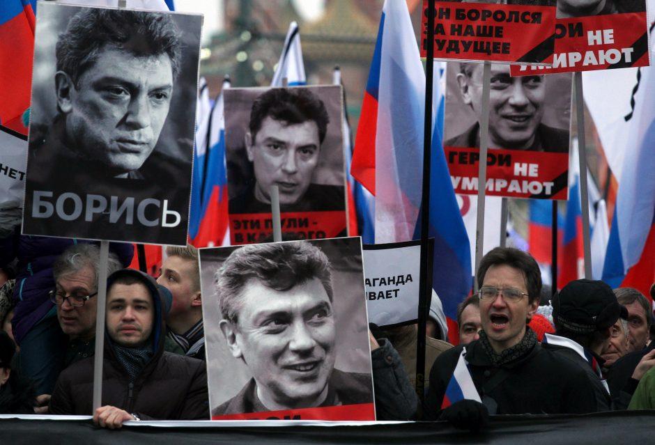 Aikštė priešais Rusijos ambasadą Vašingtone bus pavadinta B. Nemcovo vardu