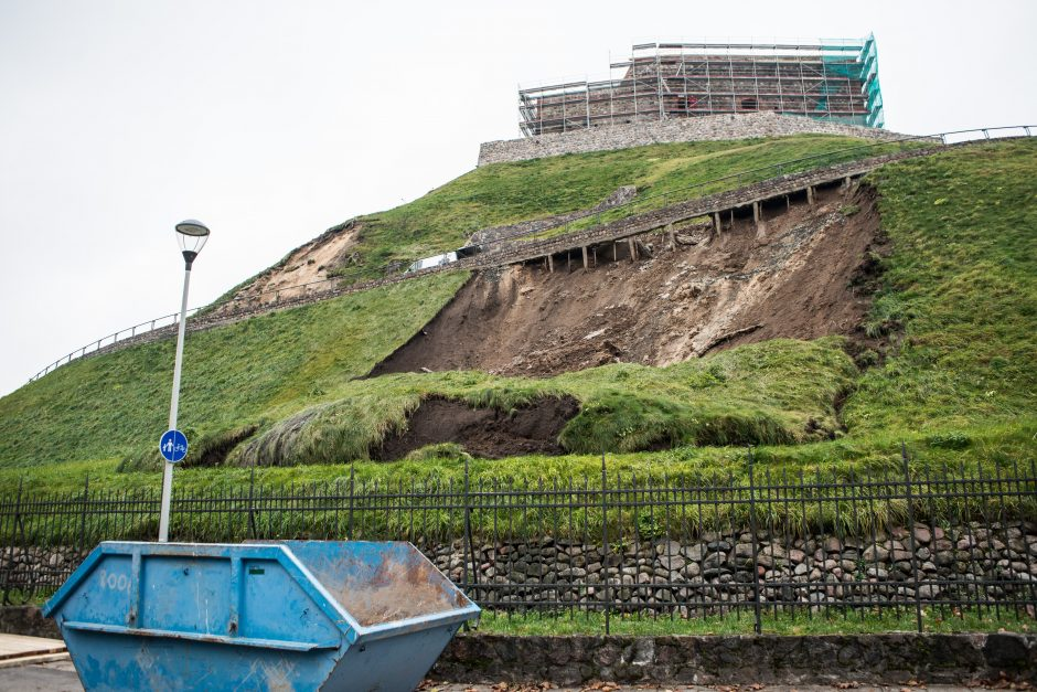 Viceministras: Gedimino kalno sutvarkymas užtruks iki penkerių metų