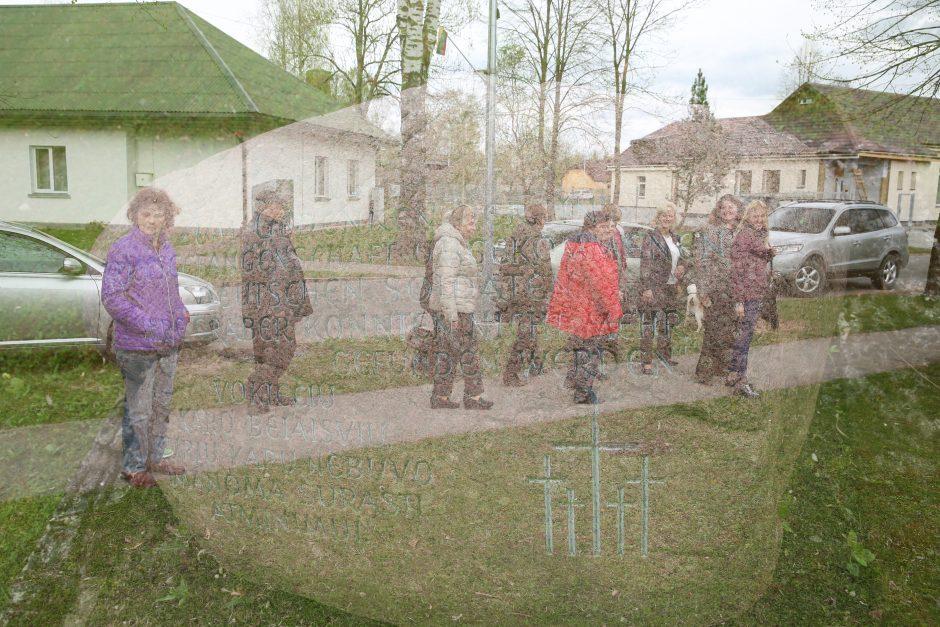 Priešais fotomenininko R. Puišio objektyvą – kalnai, Vorkuta, Linksmakalnis