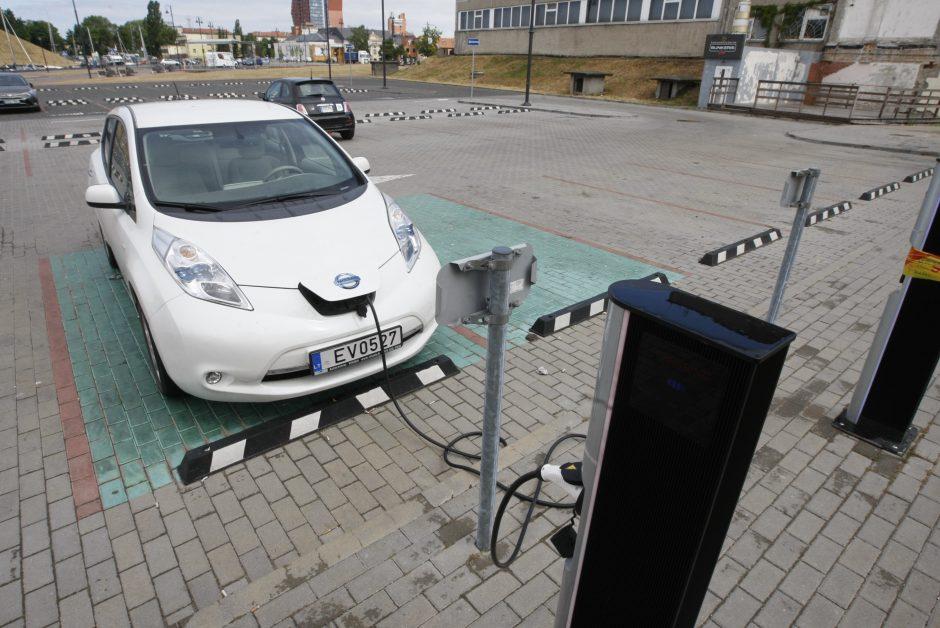 Elektromobilių proveržio dar reikės palaukti