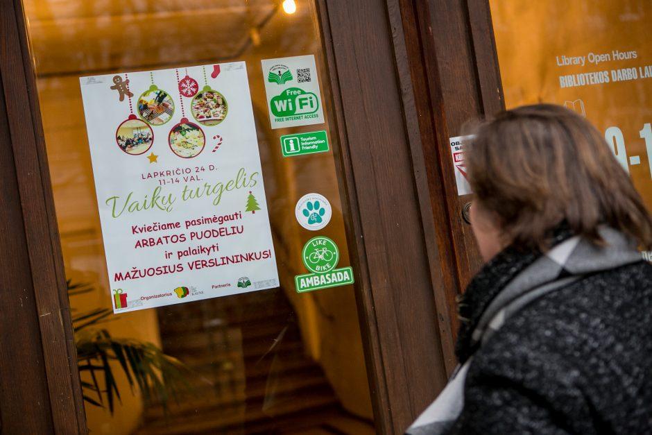Mažieji verslininkai Kaune dalijosi gerumu