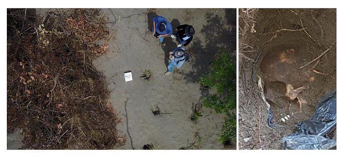 Meksikoje slaptose kapavietėse aptikti mažiausiai 166 žmonių palaikai