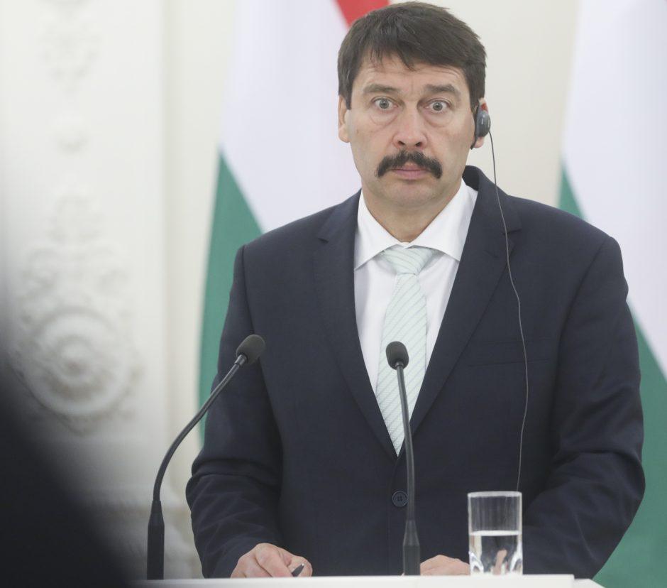 Vengrijos prezidento vizitas Lietuvoje