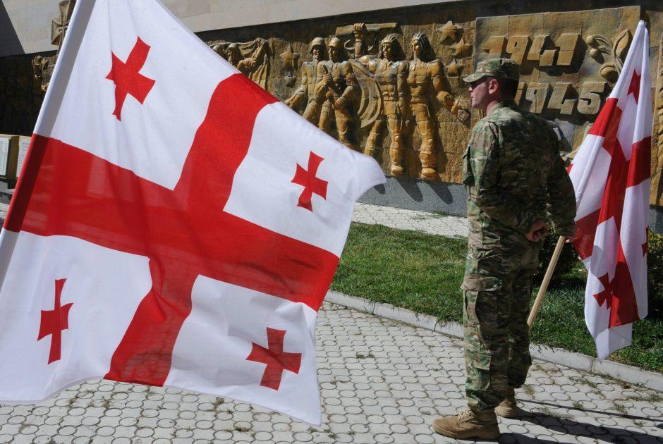 Karo randai tebedarko Gruzijos veidą