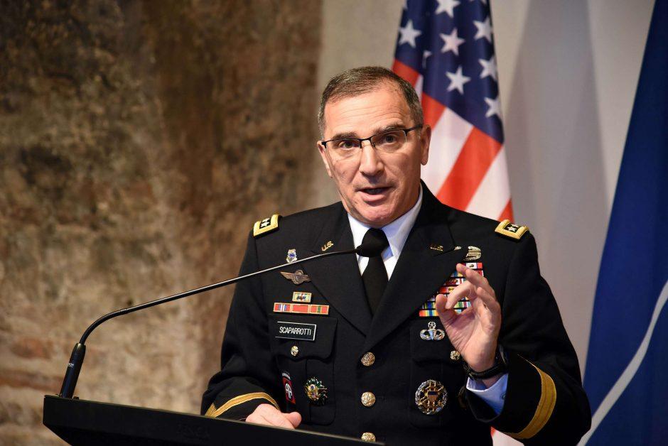 NATO generolas: Rusija vykdo destabilizacijos kampaniją