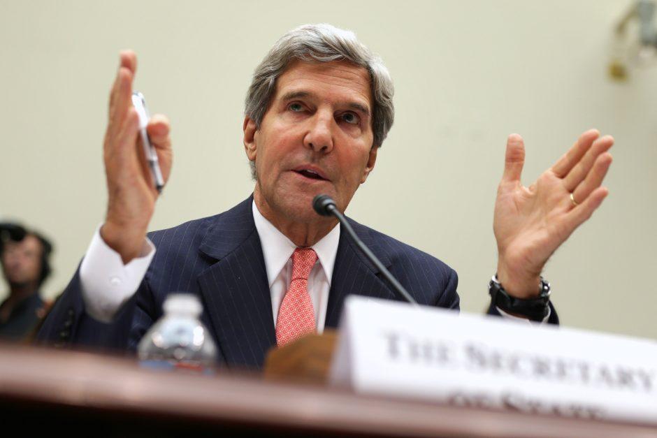 JAV valstybės sekretorius į Lietuvą atvyks penktadienį