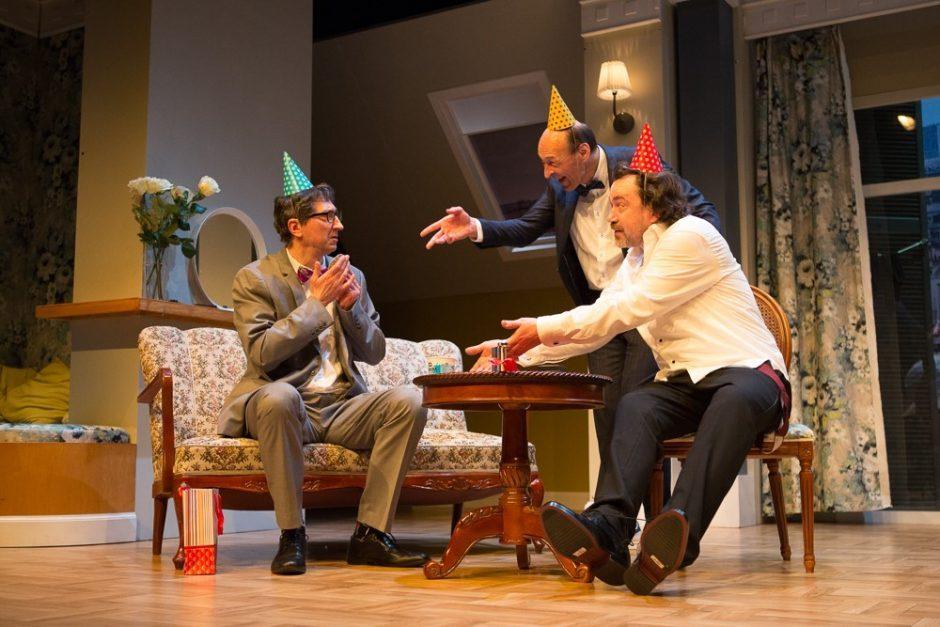 """Prancūziškai grakščios komedijos """"Žaidimas nebaigtas"""" premjeroje – būrys garsenybių"""