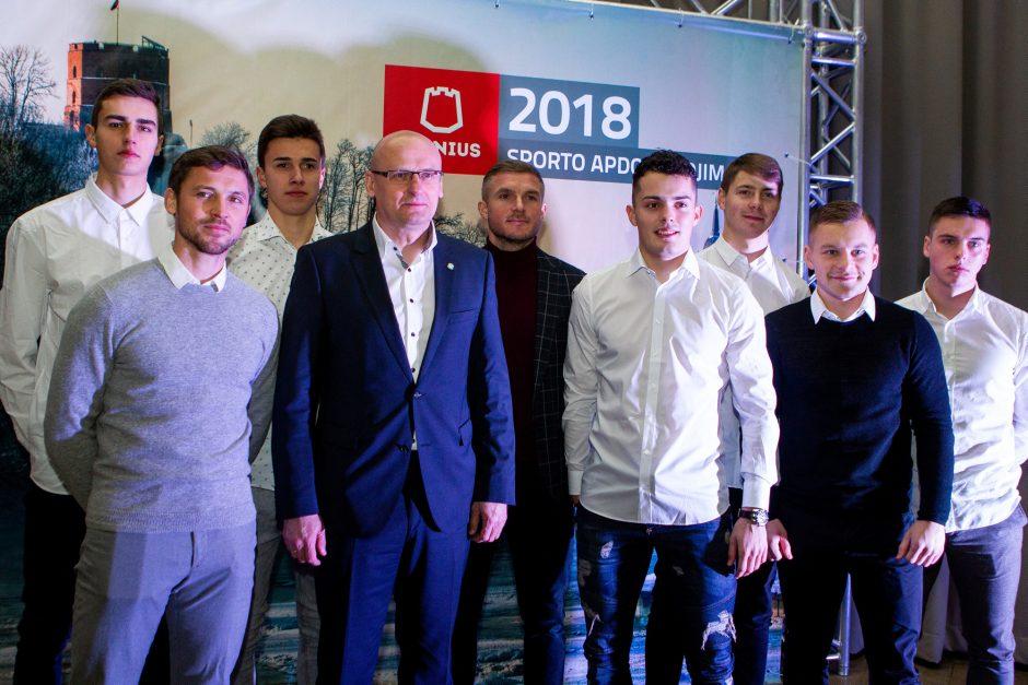 Geriausi Vilniaus sportininkai – M. Valčiukaitė ir A. Seja