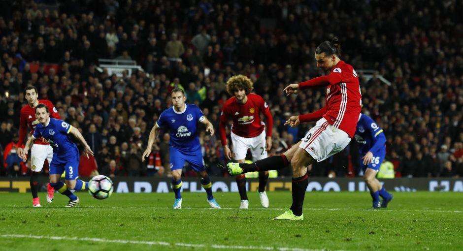 """Z. Ibrahimovičius dramatiškai išgelbėjo """"Manchester United"""""""