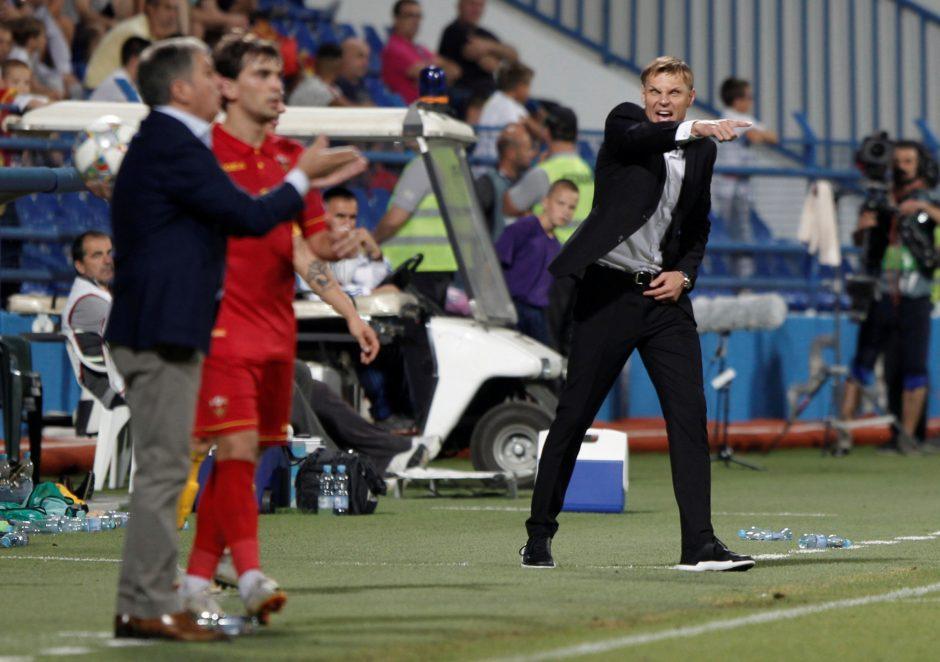 UEFA Tautų lyga: Juodkalnija – Lietuva 2:0
