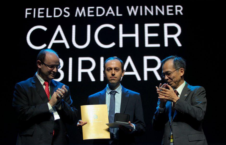2018-ųjų Fieldso matematikos medalį laimėjo keturi mokslininkai