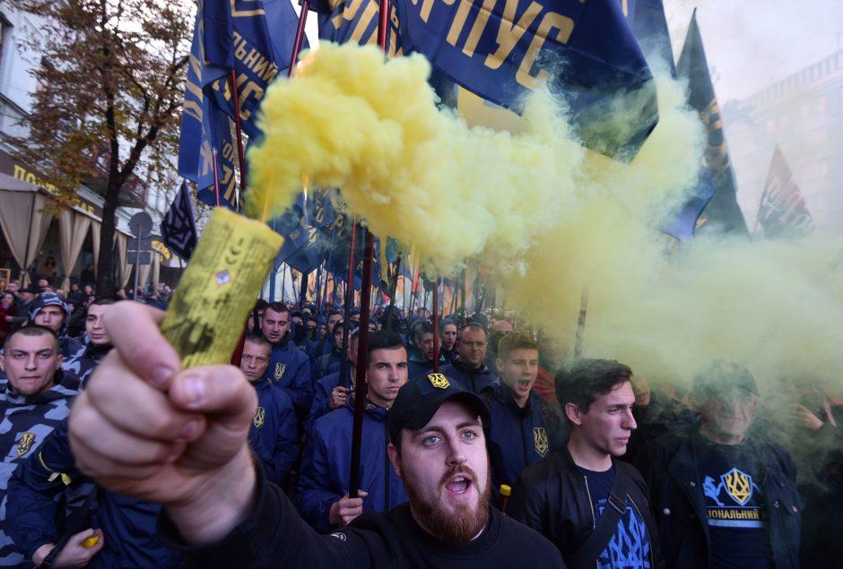 Nacionalistų eitynės Kijeve