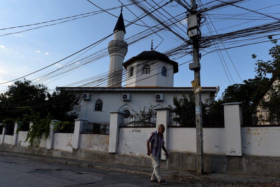 Po incidento Rusijos elektrinėje Kryme dingo elektra