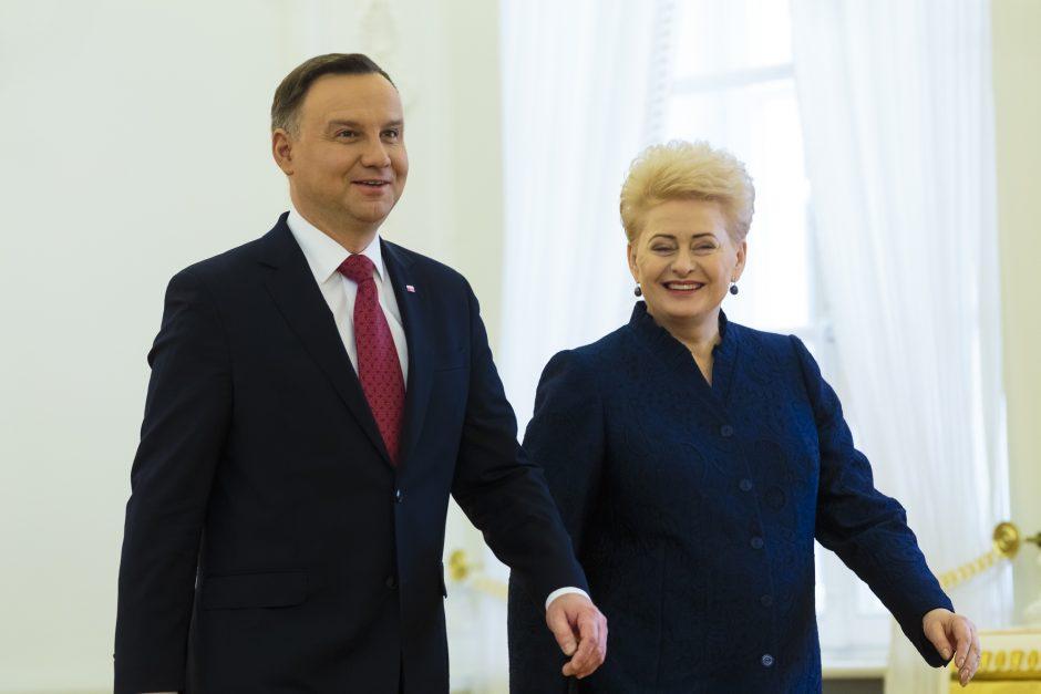 Lietuvos ir Lenkijos prezidentų susitikimas