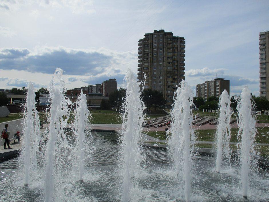 Kauno fontanai: kuris jų gražiausias?
