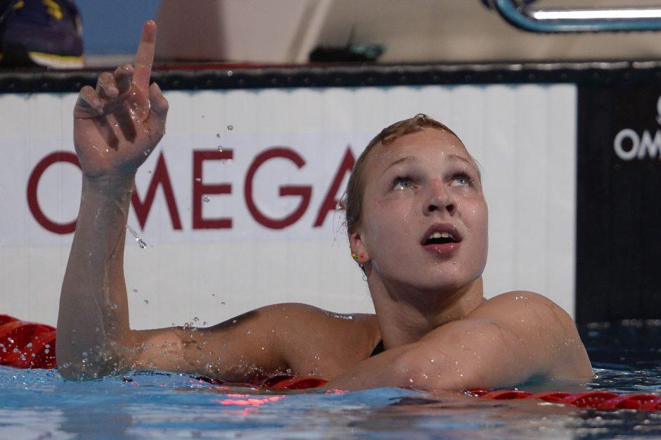 R. Meilutytė pasaulio jaunimo čempionate iškovojo ketvirtąjį aukso medalį!