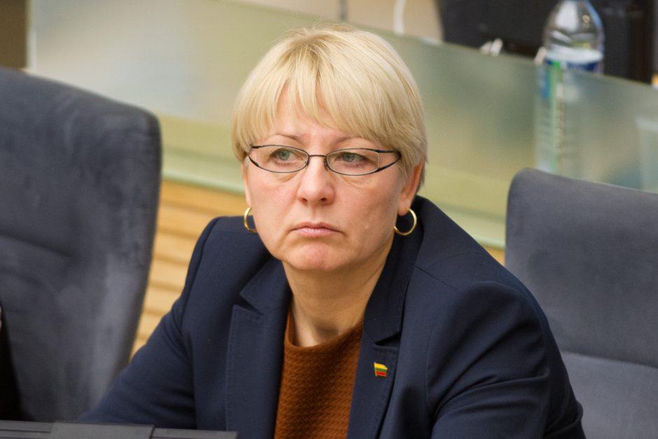 Seimo narė paaiškino, kodėl užregistravo pataisas dėl vaikiško šampano