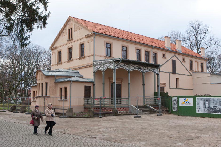 Teismas: Kurhauzo kiemo statiniai priklauso Palangos savivaldybei