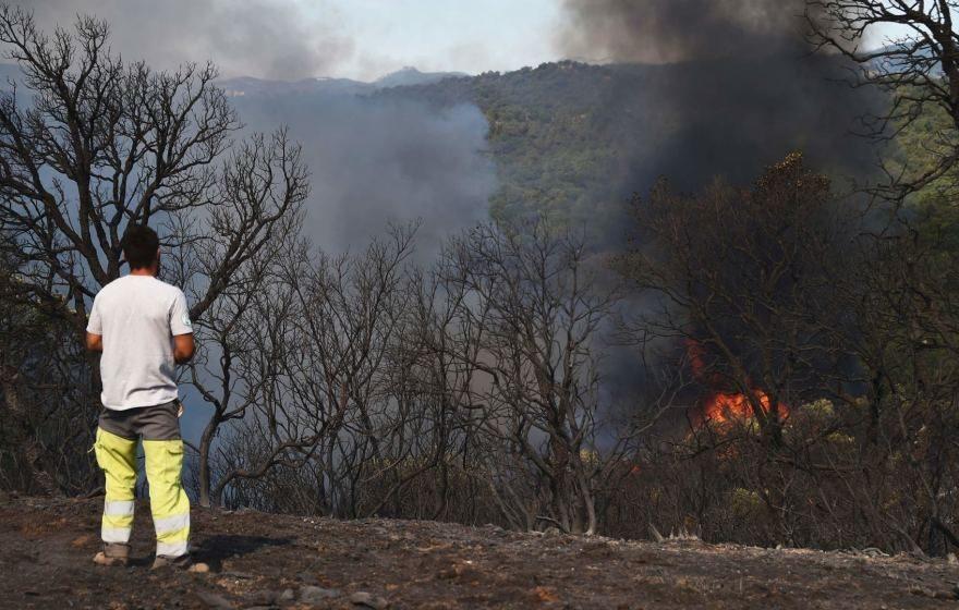 Pietryčių Prancūzijoje kilo naujas miško gaisras