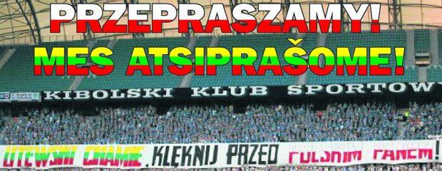 Lenkai parašė lietuviams atsiprašymo laišką ir po juo renka parašus