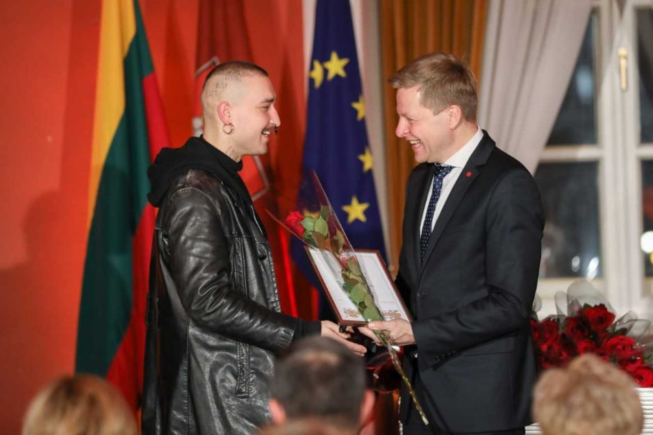 Sostinės meras apdovanojo prasmingiausių darbų Vilniui kūrėjus