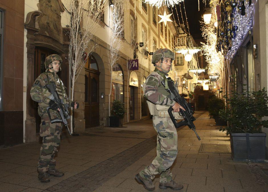 Kruvinas išpuolis Strasbūre