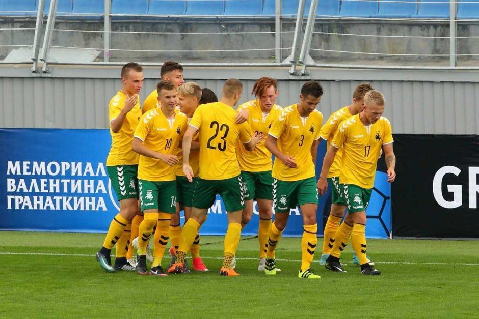 19-mečių futbolo rinktinė V. Granatkino turnyre iškovojo antrąją pergalę