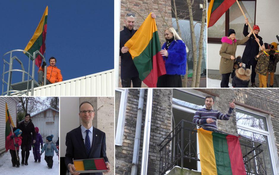 Lietuvoje plinta akcija – kelkime Trispalvę!