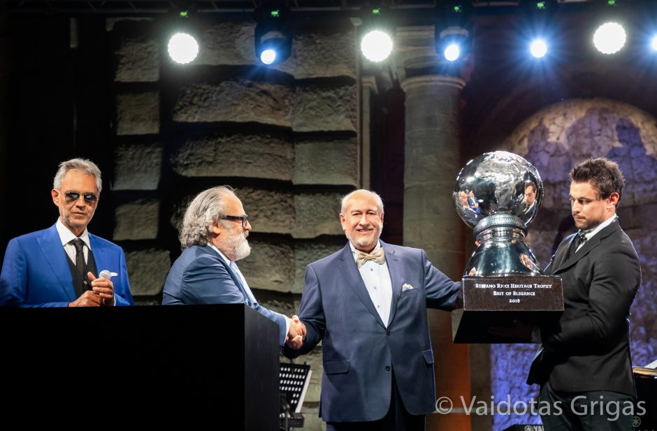 S. Karosas laimėjo Didįjį prizą Florencijos istorinių automobilių parodoje