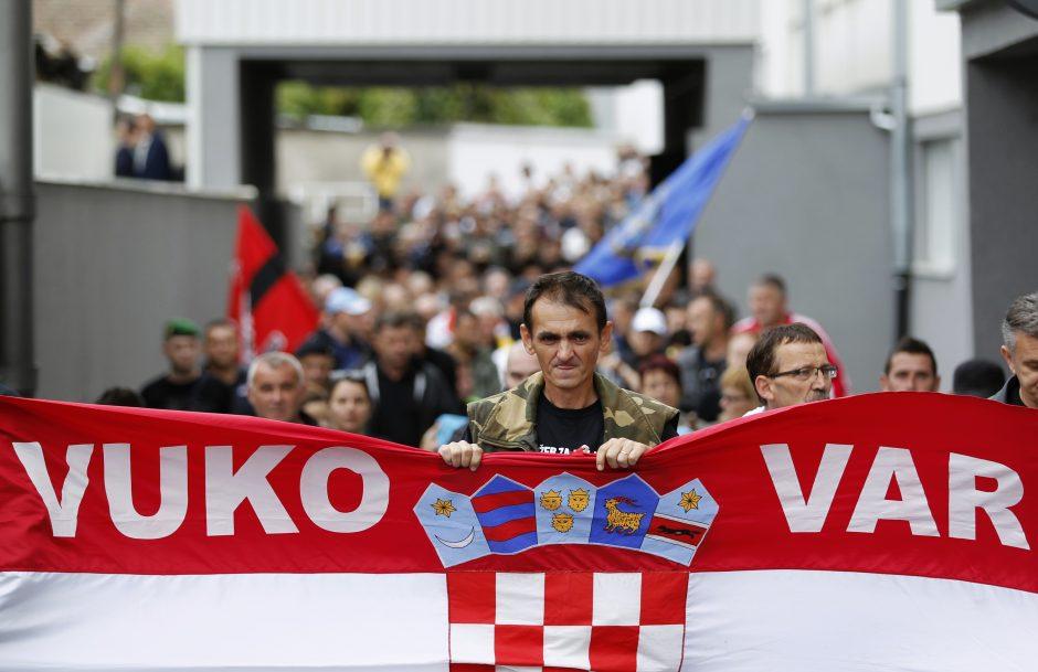 Nusižudė skandalingas kroatų nacionalistas