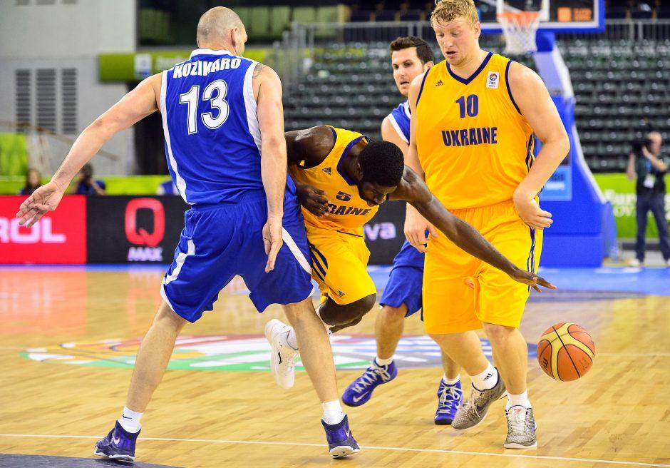 Ukrainos krepšininkai rungtyniauja pergalingai
