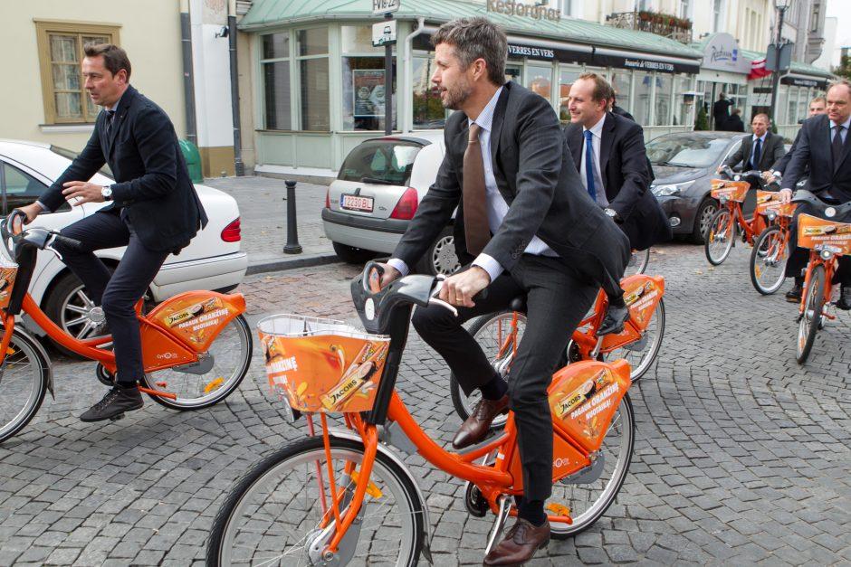 Pirmasis oranžinių dviračių sezonas buvo sėkmingesnis nei planuota